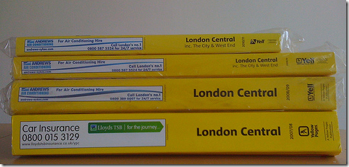 The incredible shrinking Yellow Pages