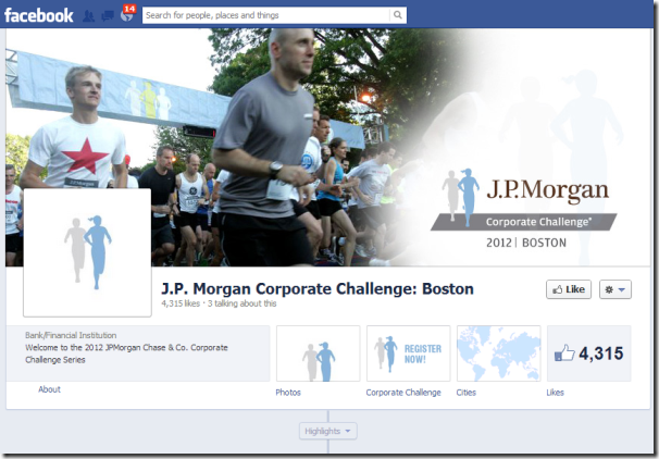 JP Morgan Facebook