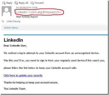 20140905 LinkedIn Spam