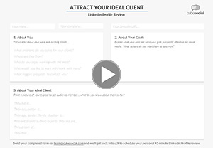 LinkedIn Profile Review Worksheet Video